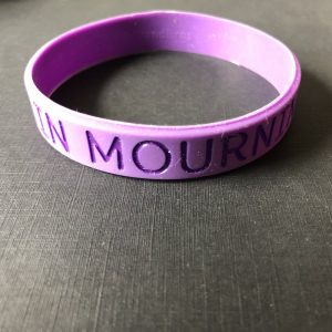 """""""IN MOURNING"""" / MISS Foundation – Purple Band"""